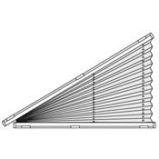 Sensuna plissees f r dreieckige fenster - Verdunkelung fur dreiecksfenster ...